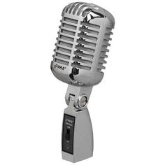Pyle Classic Die-cast Metal Retro-style Dynamic Vocal Microphone