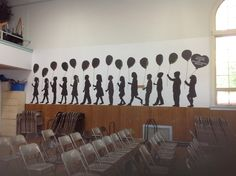 Kindergarten graduation decoration