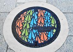 The Art of Japanese Manhole Covers | Amusing Planet