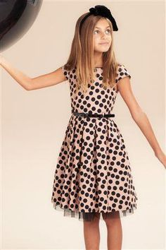 Too cute not to pin Little Girl Dresses, Dresses For Teens, Casual Dresses, Fashion Dresses, Girls Dresses, Young Fashion, Tween Fashion, Moda Fashion, Girl Fashion