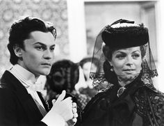 Helmut Berger and Romy Schneider in Ludwig directed by Luchino Visconti, 1972. Photo by Mario Tursi