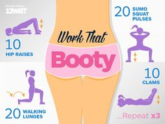 Tips To Help You With Your Fitness. Lots of people dream about having a healthier, better-looking body through physical fitness. Dip Workout, Squat Workout, Workout Ideas, Squat Exercise, Butt Workouts, Workout Routines, Workout Plans, Pulse Squats, Sumo Squats