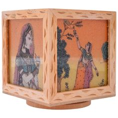 Wooden Gem Stone Pen Pencil or Card Holder Stand Good Morning Flowers, Home Decor Accessories, Handmade Crafts, Handicraft, Home Crafts, Vintage World Maps, Decorative Boxes, Card Holder, Pencil