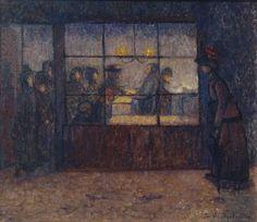 Stanislawa De Karlowska, 'Fried Fish Shop' c.1907
