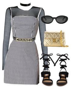 """Untitled #1395"" by wavvy-k ❤ liked on Polyvore featuring Elizabeth and James, Steve Madden, Atsuko Kudo and Chanel"