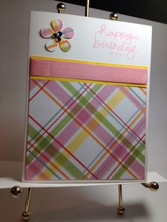 Using up scraps of patterned paper SU sentiment **photo only