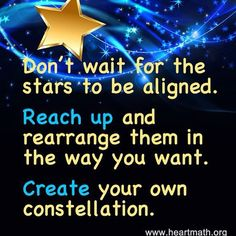 Don't  wait. ..make it happen