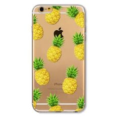 Pineapple iPhone 6/6s case Soft & flexible silicone case. Super cute for summer ! #pineapples Accessories Phone Cases