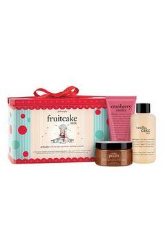 Philosophy 'Fruitcake Mix' Gift Set http://rstyle.me/n/dwtp5r9te