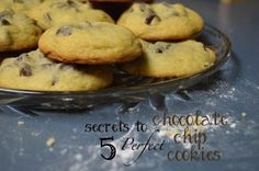 5 Secrets to Perfect Chocolate Chip Cookies -- Everything you've ever needed to know!!