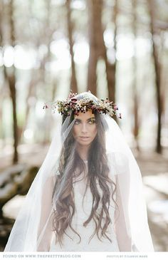 eclectic boho wedding the pretty blog 022 The Enchanted Forest {Wedding Inspiration}