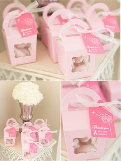 FREEBIES: Pink October Party Printables for Breast Cancer Awareness Month  by Bird's Party