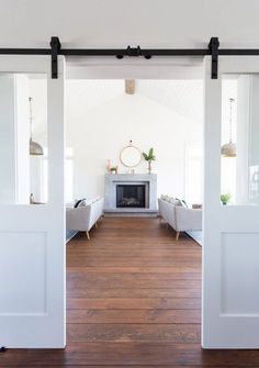 White Barn Doors   Coco & Jack