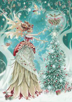 Lot de douze Yule Lièvre Cartes de Noël Solstice Yule Pagan Free UK POST Lapin