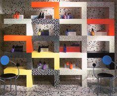 ettore sotsass / esprit        Ettore Sottsass, Esprit Store Interior, 1985        ………..  !!!!!