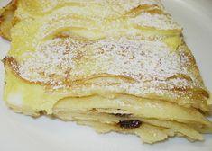 Zapečené palačinky s tvarohem recept - TopRecepty.cz Sweet Dishes Recipes, Dessert Recipes, Desserts, Czech Recipes, Ethnic Recipes, Look Body, Crepe Cake, Mille Crepe, Crepes