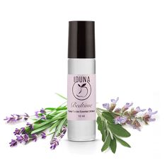Iduna Bedtime Natural Sleep Aid with Essential Oil Blend, 10 ml Coconut Essential Oil, Essential Oil Blends, Essential Oils, Glass Roller Bottles, Natural Sleep Aids, Doterra, Bedtime, Aromatherapy, Serenity