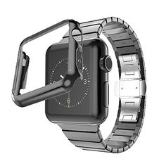 Biaoge Ultra Slim Stainless Steel Grand Series Slimfit Steel Watchband Match with Plated Apple Watch Case for Apple Watch (Link Dark Grey 38mm) Hoco http://www.amazon.com/dp/B013QZ962S/ref=cm_sw_r_pi_dp_1pSYvb0DZNAWT