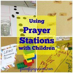 Using Prayer Stations with Children