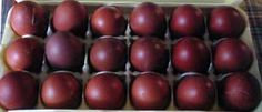 French Black Copper Maran eggs