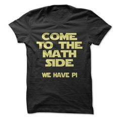 Come To The Math Side #mathteacher