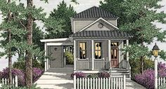 This 2 story Cottage features 1587 sq feet. Call us at 866-214-2242 to talk to a House Plan Specialist about your future dream home!