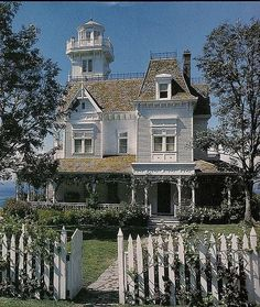 Victorian home from Practical Magic by alisa