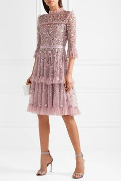 Shop For This Needle   Thread Vintage-Inspired Dress Lilac Dress a3d1399c4