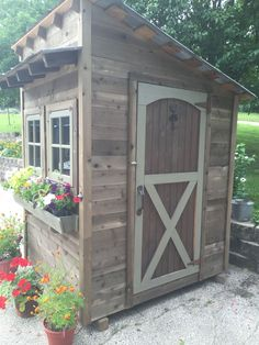 My Shed Plans - Garden Shed - Now You Can Build ANY Shed In A Weekend Even If You've Zero Woodworking Experience! #playhousebuildingplans