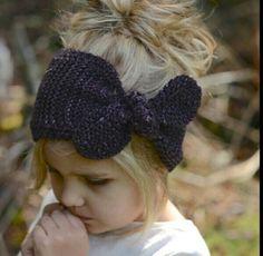Amarina Warmer Knitting pattern by The Velvet Acorn Knitting For Kids, Knitting Projects, Baby Knitting, Crochet Baby, Crochet Projects, Knit Crochet, Knitted Headband, Knitted Hats, Headband Pattern