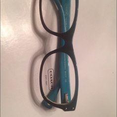 Coach eyewear Ombré blue 100% authentic new Coach Accessories Glasses