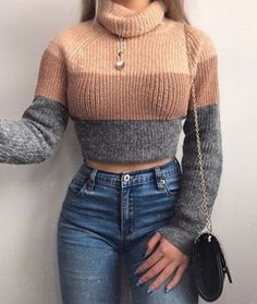 50 cute casual winter fashion outfits for teen girl 00048 Winter Fashion Outfits, Fall Winter Outfits, Look Fashion, Teen Fashion, Fashion Clothes, Feminine Fashion, Fashion Ideas, Fashion Trends, Latest Fashion