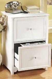 Oxford 2-drawer File Cabinet...Finally, a filing cabinet that's not ugly.