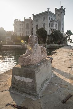 Trieste - Castello di Miramare, Grignano, Friuli-Venezia Giulia, Italy