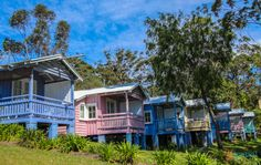 Cottages in Hyams Beach, Jervis Bay, Australia