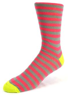 NEW Mens Combed Cotton Socks Solid Color Classic Stripes Casual Dress Socks 9-12