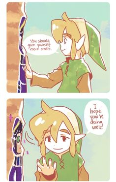 I don't think he realized that really was Ravio