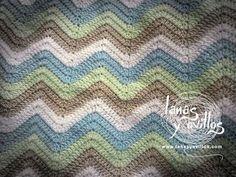 Alcrochet.com - ¡Alcrochet, la biblioteca del crochet online! Crochet paso a paso, Mantas a crochet Tutorial Manta Zig Zag a Crochet o Ganchillo Paso a Paso en Español Zig Zag Crochet, Crochet Ripple, Crochet Stitches, Free Crochet, Knit Crochet, Ripple Afghan, Crochet Diagram, Crochet Chart, Crochet Baby Blanket Sizes