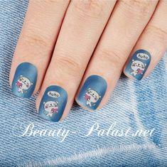 "#nailart Nail Sticker ""Kätzchen"" www.beauty-palast.net/nailart-design/nail-art-sticker/tiere/"