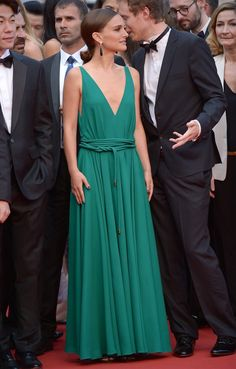 Natalie Portman, in Lanvin