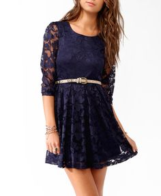 Bought a shirt similar to this dress at Target the other day...  Abstract Pattern Lace Dress | FOREVER21 - 2021840882