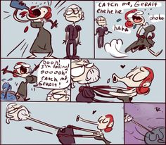 The Witcher 3, doodles 12 by Ayej on DeviantArt