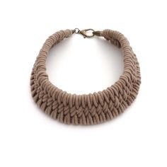 Tomales Hand Woven Necklace by Zelma Rose | http://adorn-milk.com