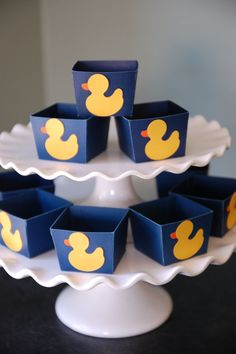 Duck Candy Cups Nut Cups Duck Baby Shower Duck Boy by GiggleBees, $12.00