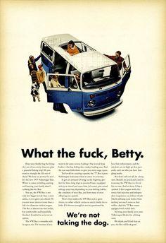 Volkswagen - VW van - Even good for a ...