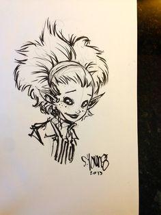 Pixie Sketch by Skottie Young.