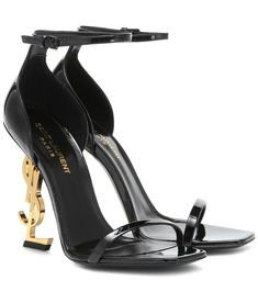 Shop Opyum 110 patent leather sandals presented at one of the world's leading online stores for luxury fashion. Dr Shoes, Cute Shoes, Me Too Shoes, Lux Fashion, Fashion Shoes, Ysl, Leather Sandals, Patent Leather, Fendi