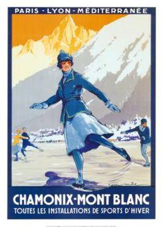 Chamonix, France Winter Olympics 1924. The first Winter Olympics held separate from the summer olympics.