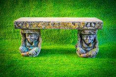 Discount Garden Statues Ltd - EXCLUSIVE Pixie Goblin Tree Bark Garden Magical Bench Hand Made in UK, £359.00 (http://www.discountgardenstatues.co.uk/exclusive-pixie-goblin-tree-bark-garden-magical-bench-hand-made-in-uk/)