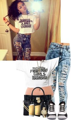 """FineAssGirls"" by imoni-dixon ❤ liked on Polyvore"
